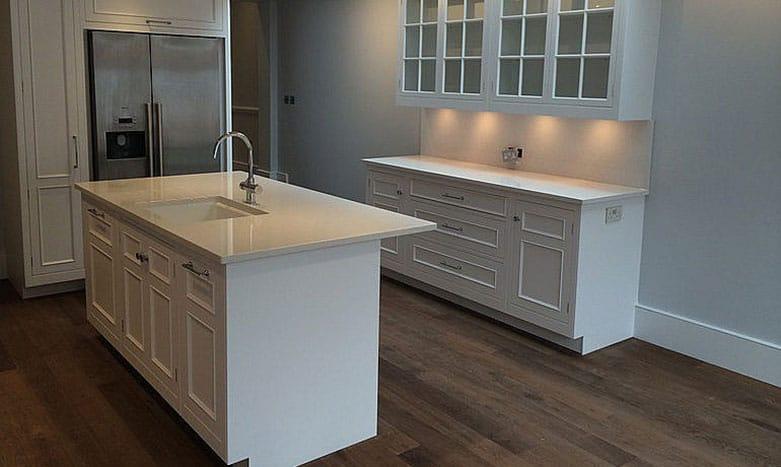 basement conversion kitchen bar