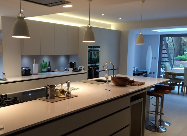modern kitchen - house extensions