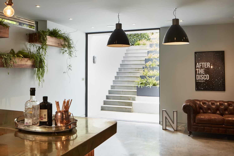 basement conversions way to the bar