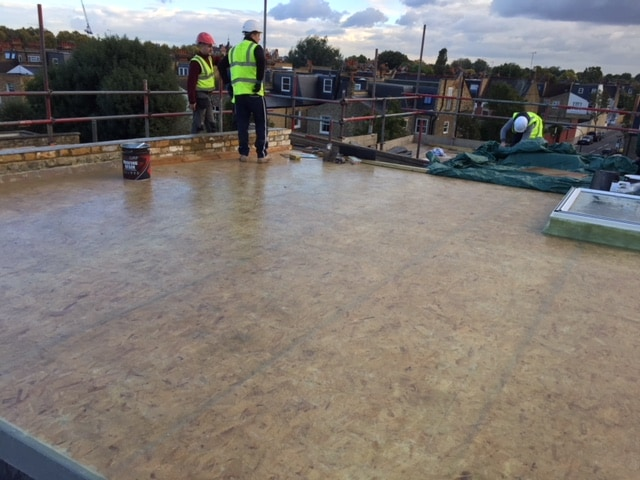 flat roofs construction