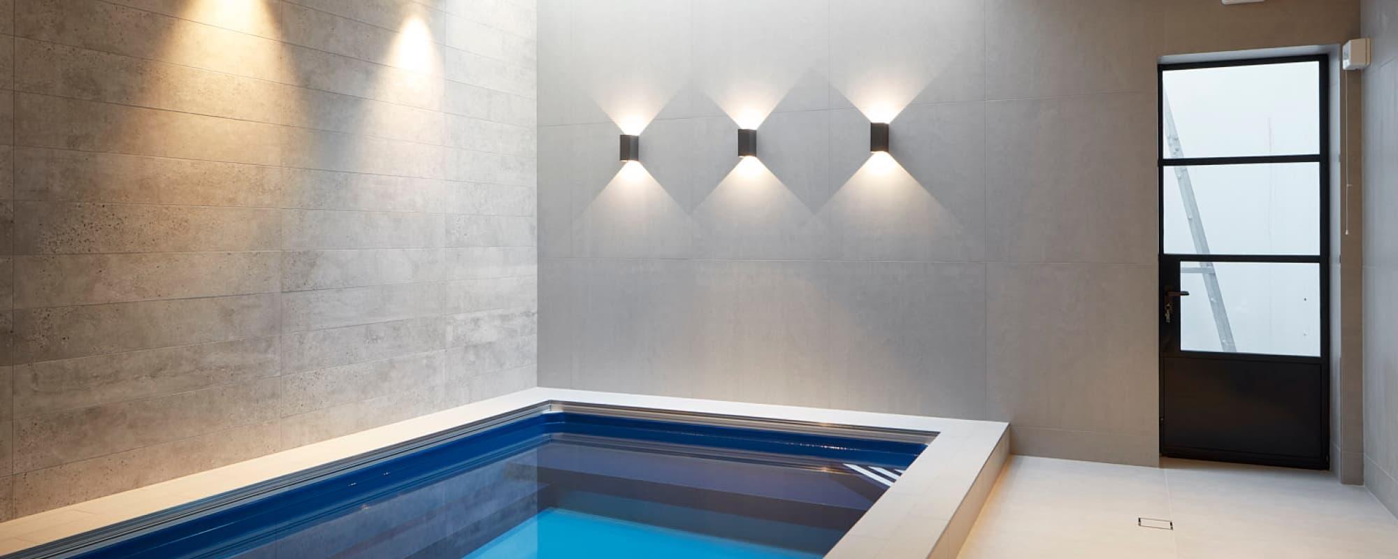 Basement conversion - Swimming pool