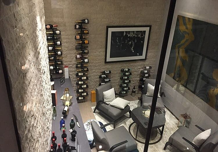 Basement Conversions wine cellar